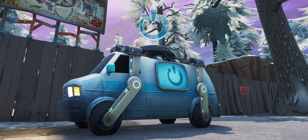 Atualização 8.30 chega em Fortnite com vans que ressuscitam jogadores