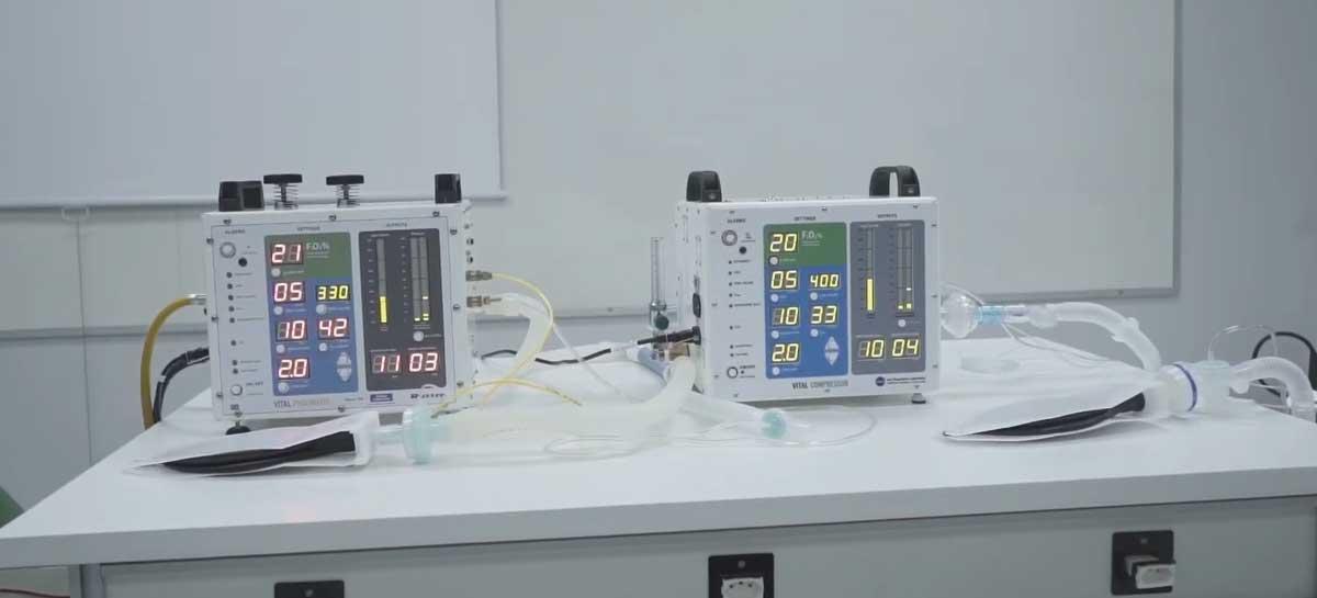 Respirador da NASA será construído no Brasil por Senai e Russer