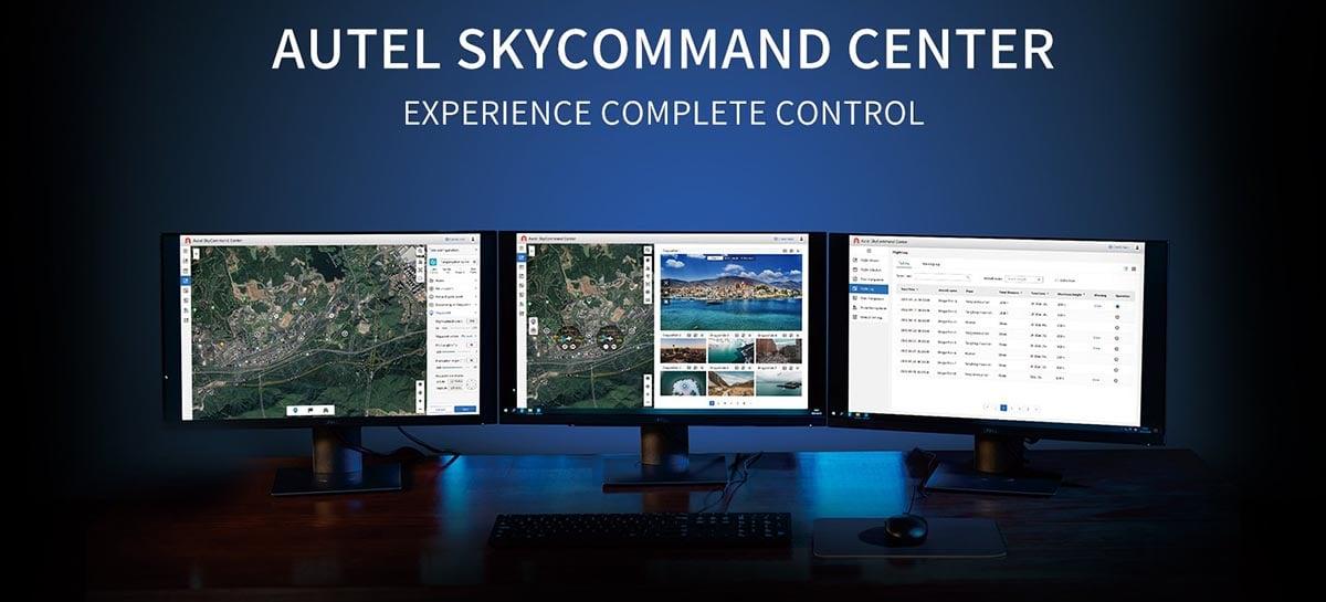Autel SkyCommand Center permite controlar e visualizar drones remotamente
