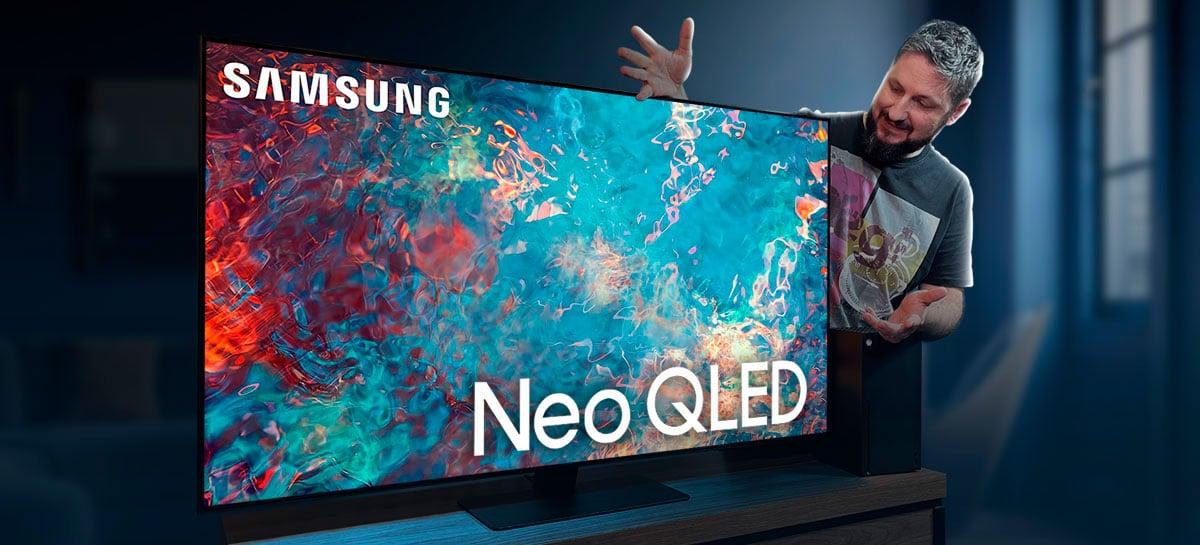 Análise da Samsung Neo QLED QN85A Smart TV: boa para filmes e excelente em esportes e jogos