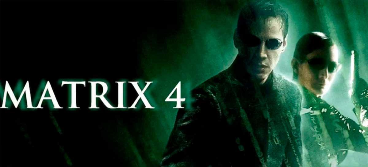 Filmagens de Matrix 4 começam em fevereiro