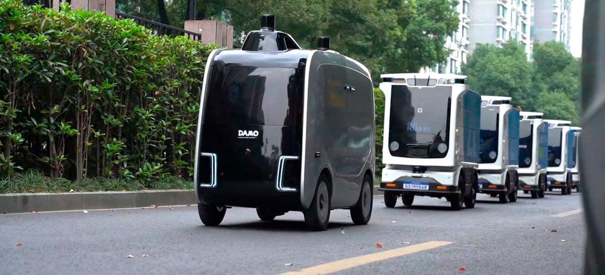 """Alibaba diz que robôs são o futuro das entregas: """"rápidos, confiáveis e baratos"""""""