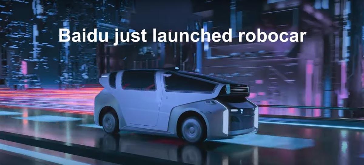 Robocar: Baidu quer redefinir veículos autônomos com protótipo de carro do futuro