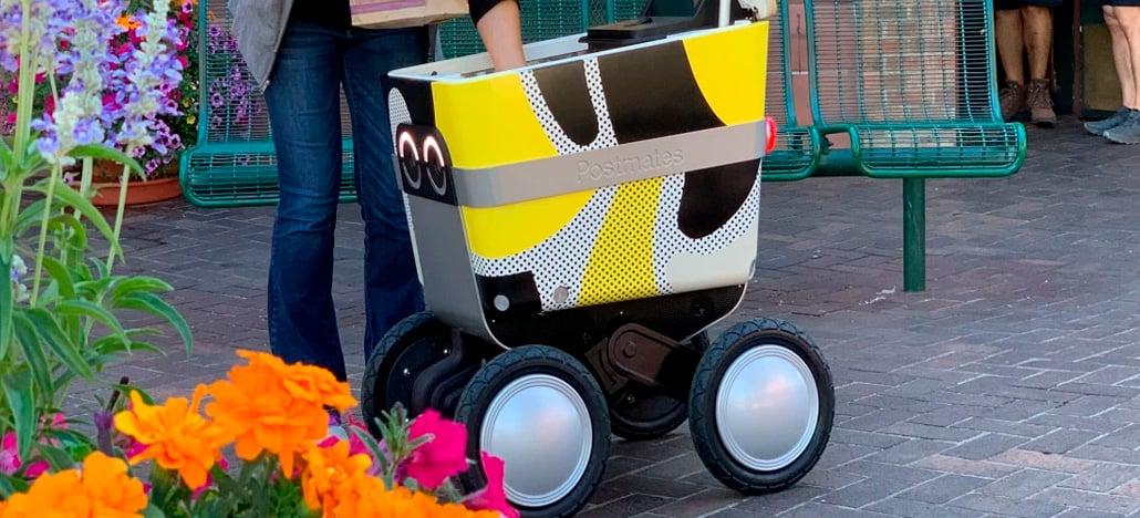 Postmates vai começar a fazer entregas com robôs autônomos em São Francisco