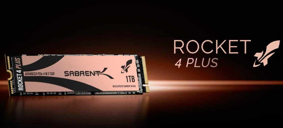 Sabrent Rocket 4 Plus desbanca Samsung como SSD mais rápido do mundo
