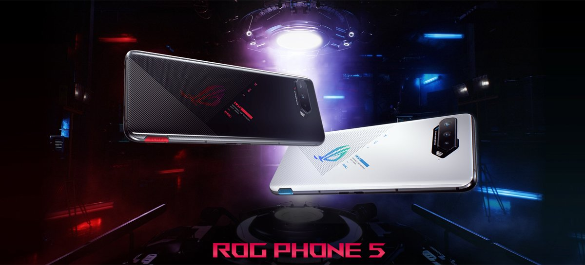 Update do ASUS ROG Phone 5 traz correções de segurança e outras novidades