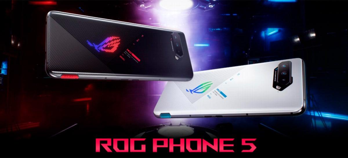 Asus divulga comparativo de bateria do ROG Phone 5 com S21 Ultra e Mi 11