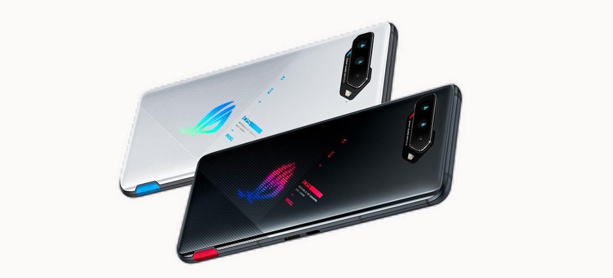 ROG Phone 5 é apresentado pela Asus com 18 GB de RAM e tela de 144 Hz