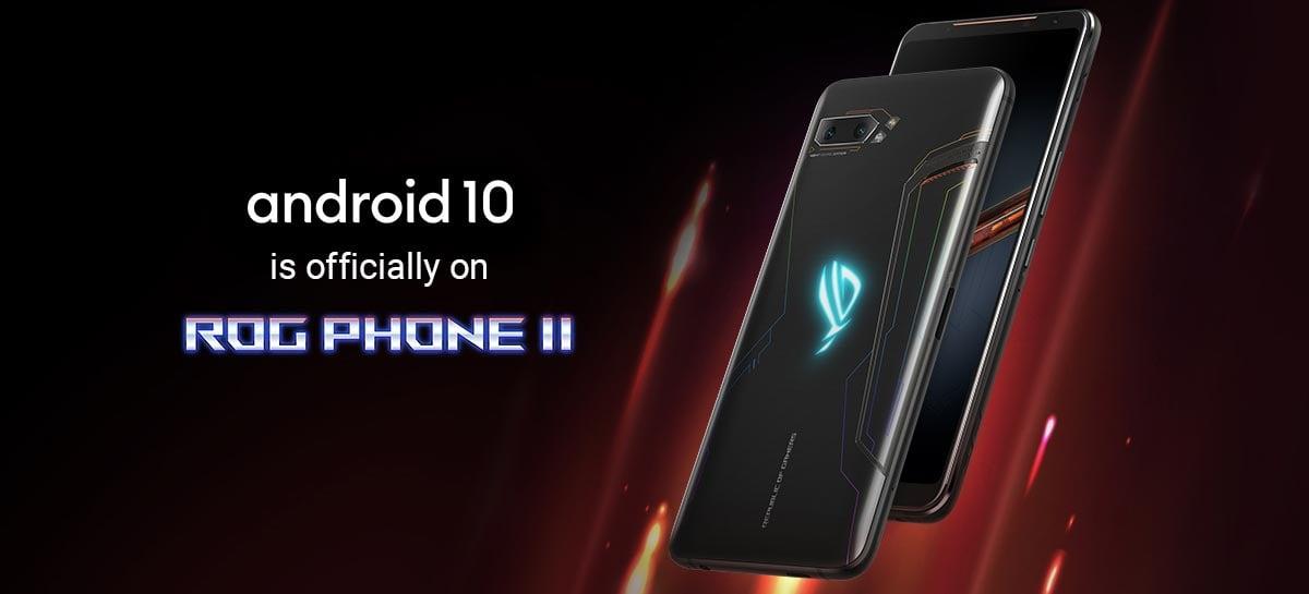 ROG Phone 2: Asus começa liberar atualização para Android 10