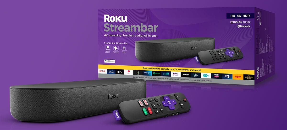 Roku anuncia linha de produtos para stream, incluindo novo Ultra e Streambar