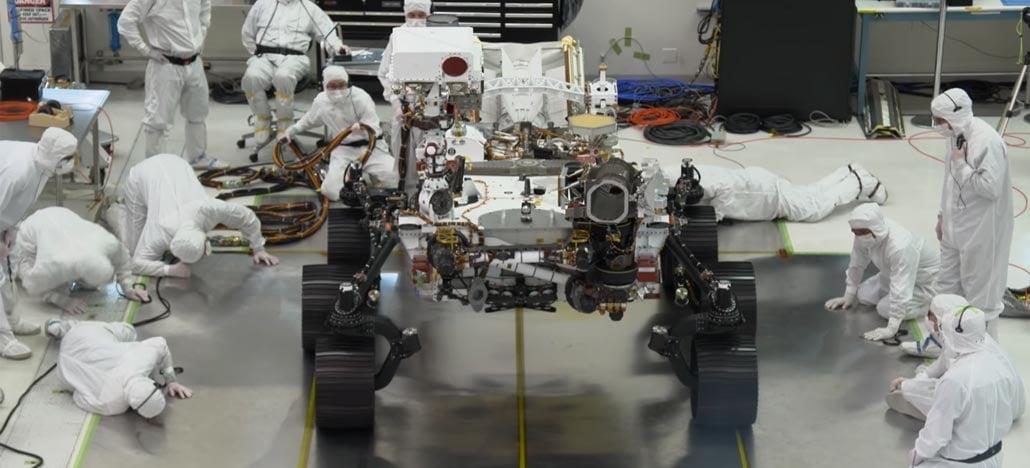 NASA faz primeiros testes com Rover que vai a Marte em 2020