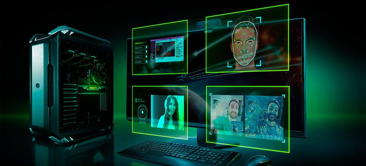 Nvidia Broadcast agora está disponível para melhorar o som e imagem das suas lives