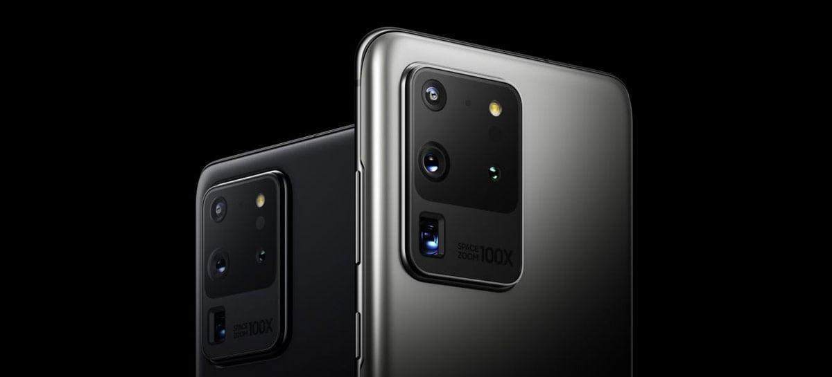 Teste de carregamento rápido do Galaxy S20 Ultra mostra diferença entre 25W e 45W