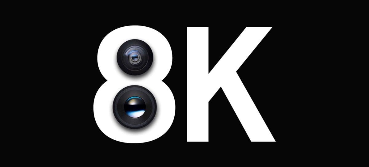 Vídeos em 8K do Galaxy S20 ocupam 600 MB de armazenamento por minuto