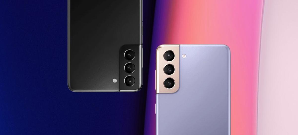Imagens dos Samsung Galaxy S21 e S21+ vazam e mostram detalhes dos aparelhos
