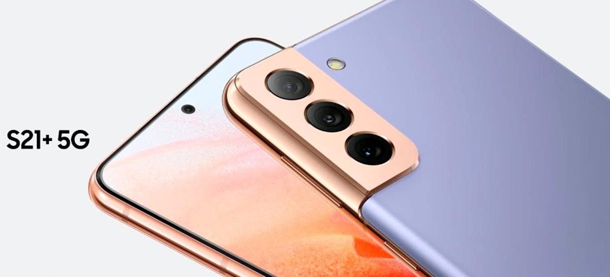 Galaxy S21 Plus: preço do celular no Brasil aparece no site da Samsung