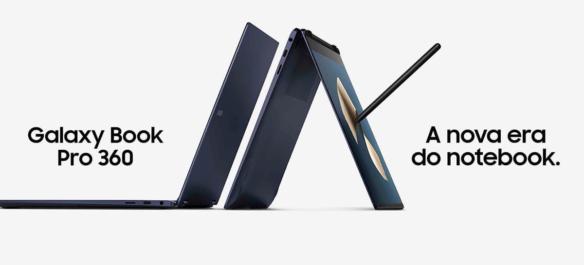 Samsung anuncia o lançamento do Galaxy Book Pro e Pro 360 no Brasil