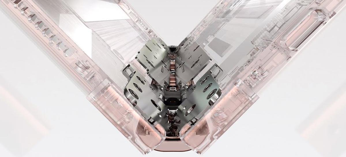 Samsung apresenta suas novas telas dobráveis e câmera sob o display