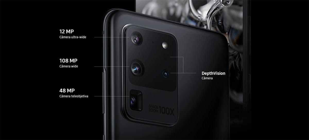 Samsung Galaxy S21 deverá ser lançado sem sensor Time-of-Flight