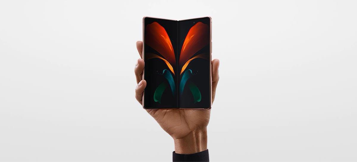 Samsung começou a produção em massa do novo Galaxy Z Fold 3