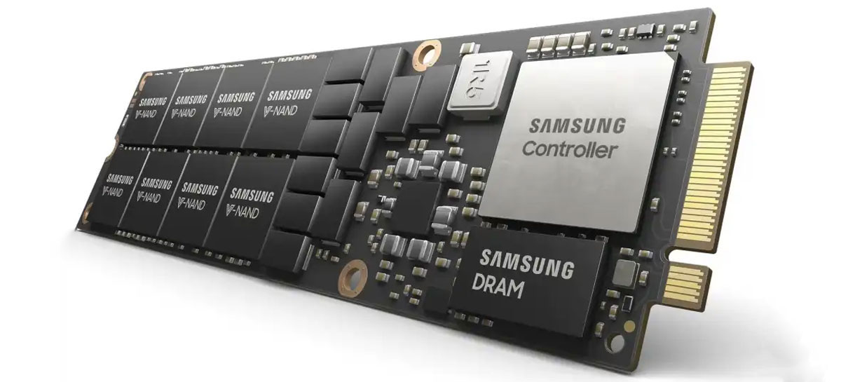 Samsung revela SSDs NVMe PM9A3 com PCIe 4.0 para servidores e datacenters