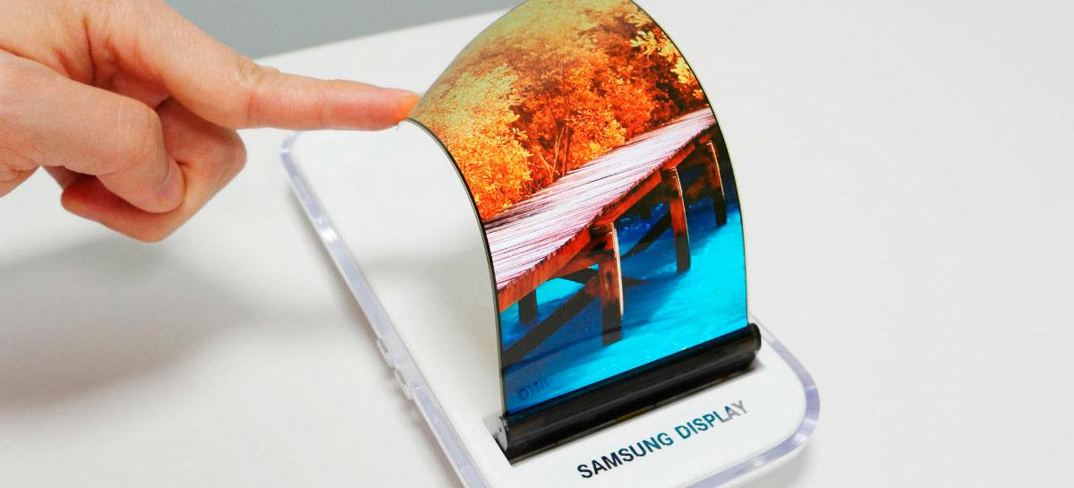 Samsung confirma que vai fabricar telas deslizantes neste ano