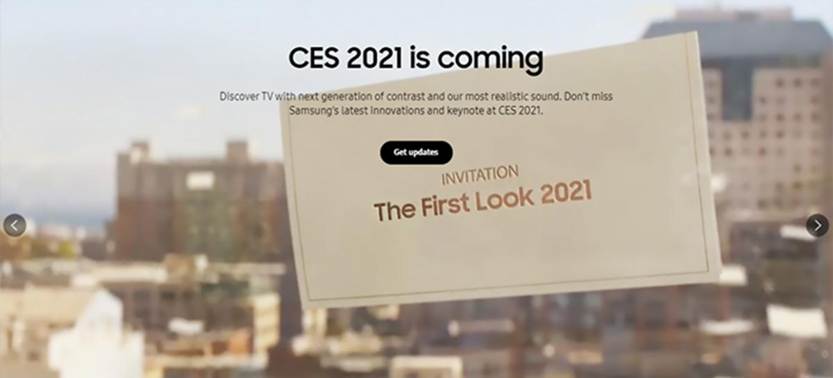Será o Galaxy S21 ou não? Sites da Samsung sugerem novo evento em 6 de janeiro