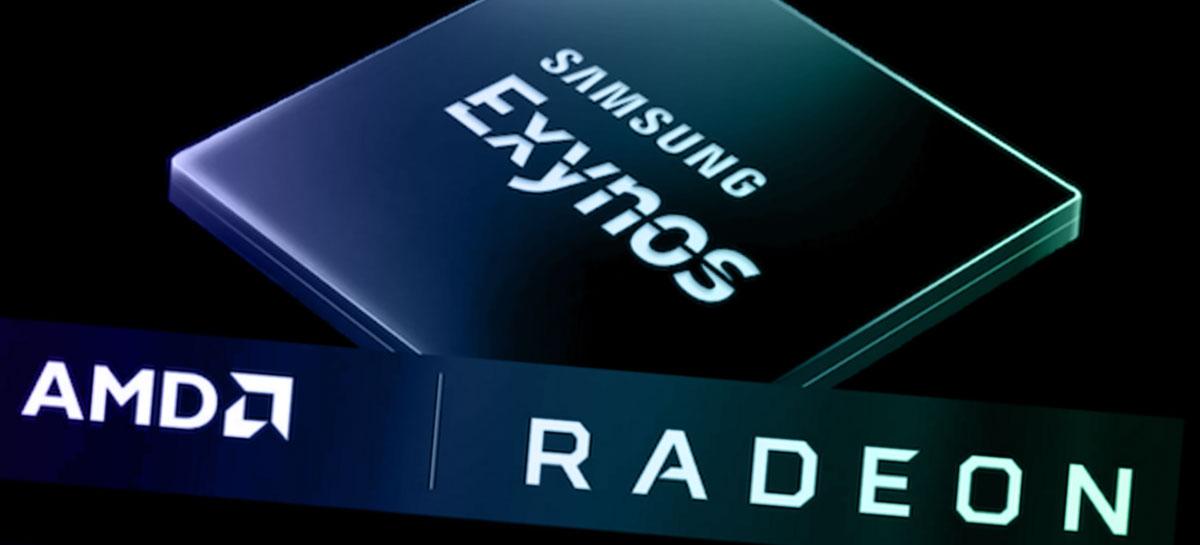 Primeiro chipset Samsung Exynos com GPU AMD pode chegar ainda em 2021