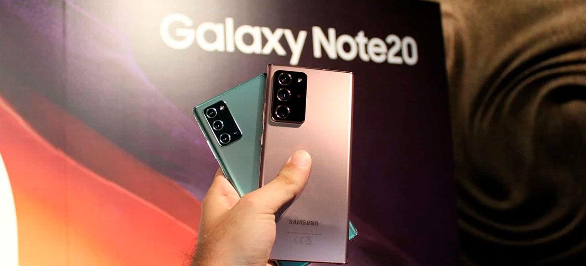 DxOMark dá nota para as câmeras do Galaxy Note20 semelhantes a do Note20 Ultra