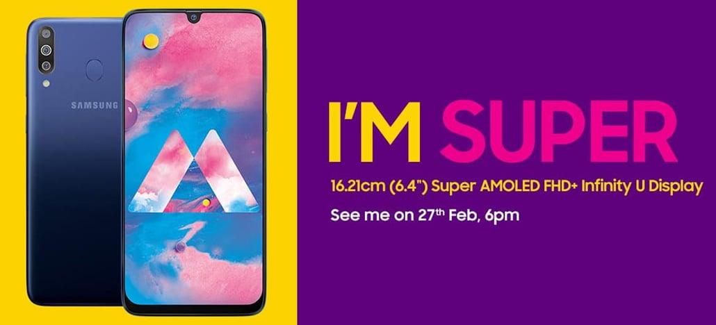 Samsung Galaxy M30 será lançado dia 27 de fevereiro na Índia