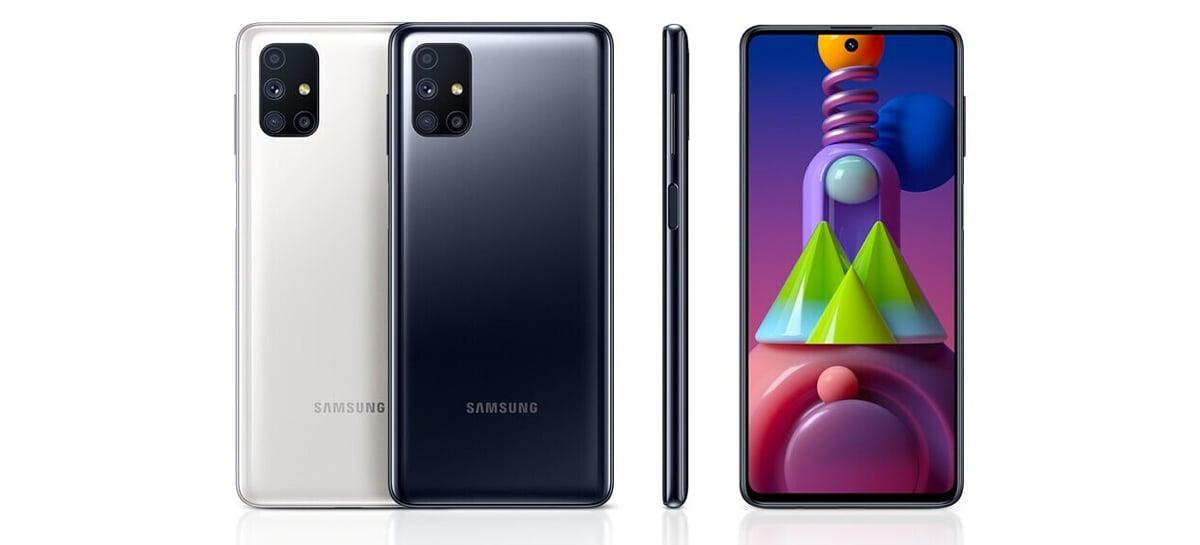 Samsung Galaxy M51 é lançado na Índia com Snapdragon 730G e bateria de 7.000mAh