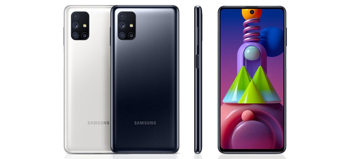 Intermediário Galaxy M52 5G aparece com Snapdragon 888 em vazamento