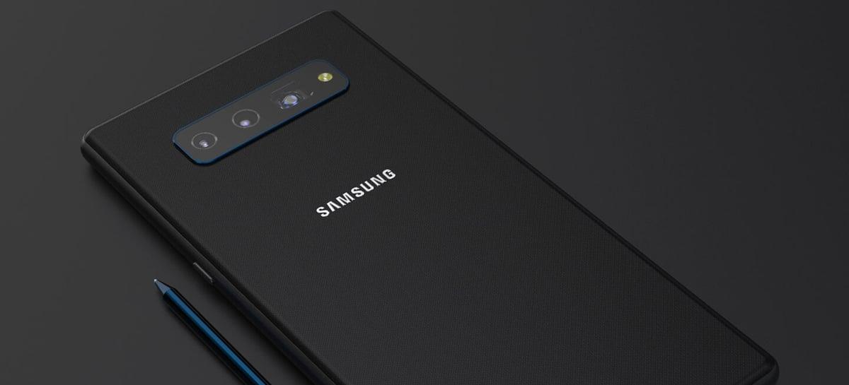 Renders mostram como pode ser o novo Samsung Galaxy Note 20 5G