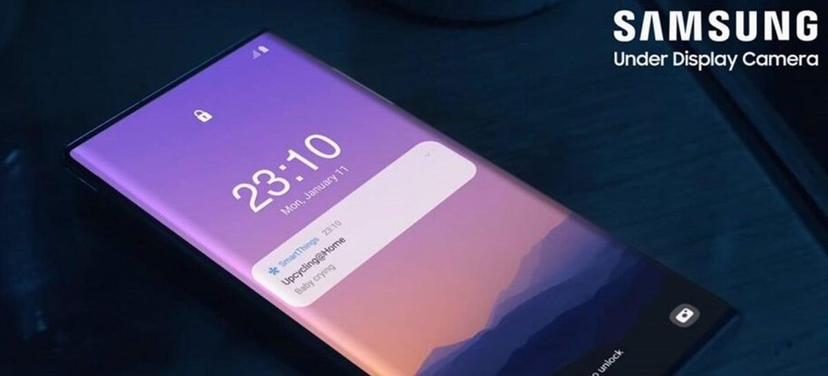 Galaxy Note 21 com câmera sob a tela? Samsung pode ter revelado celular em vídeo