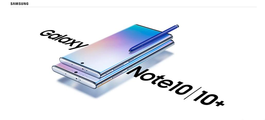 Android 10 já está disponível para o Galaxy Note10 e Note10+