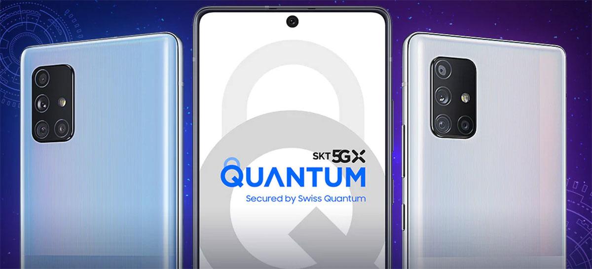 Samsung lança Galaxy A Quantum com tecnologia de segurança quântica