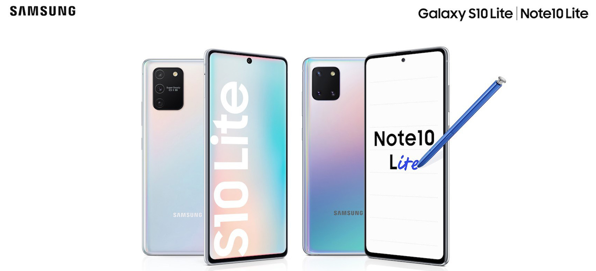 Samsung anuncia o Galaxy S10 Lite e o Galaxy Note10 Lite