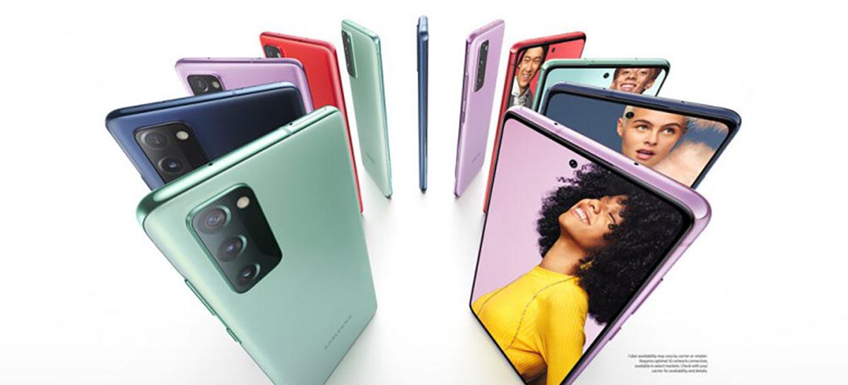 Samsung Galaxy S20 FE 5G tem infográfico vazado com todas as informações
