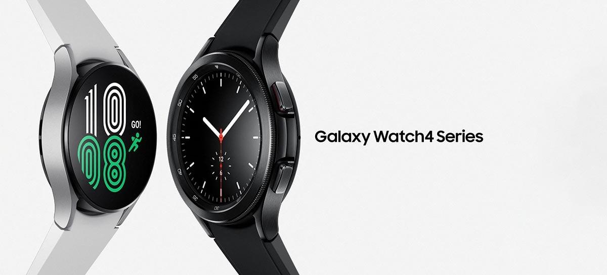 Samsung Galaxy Watch4: tudo sobre os novos smartwatches com Google Wear OS
