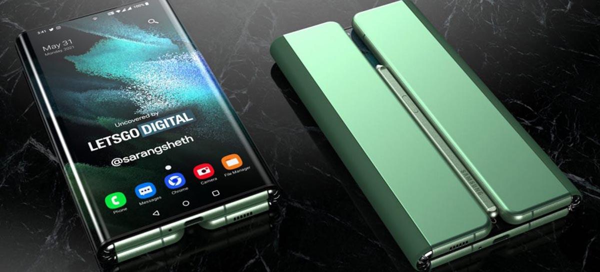 Samsung Galaxy Z Fold 3, Z Flip 3 e Watch 4 podem ser lançados em agosto