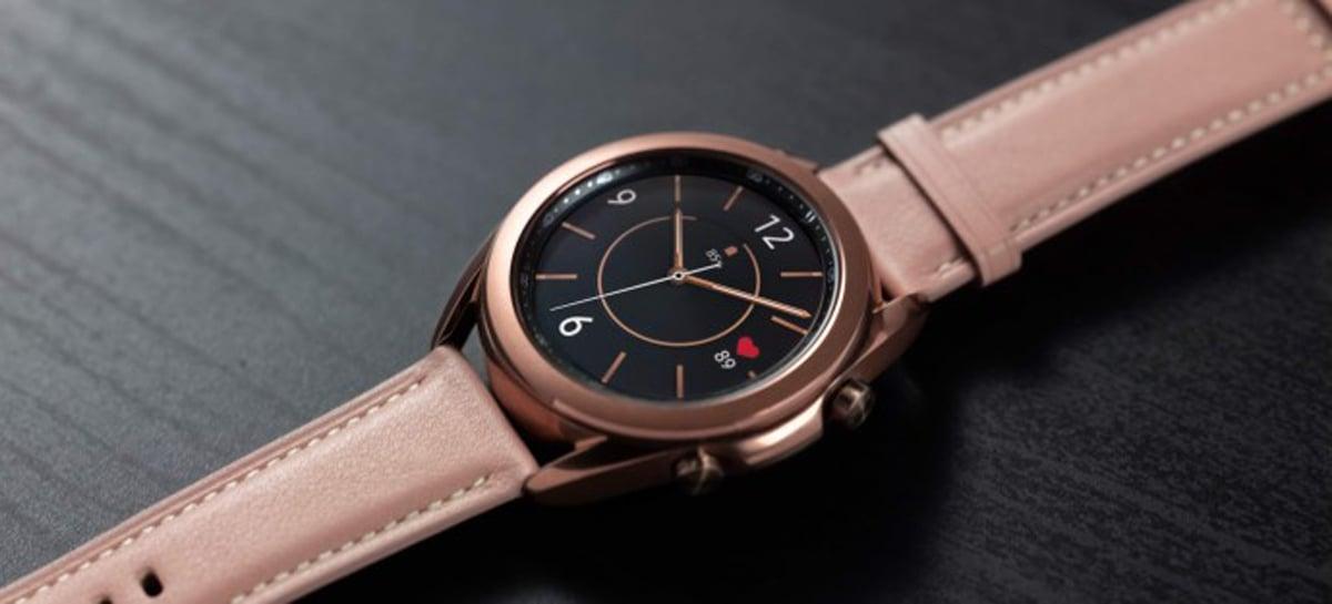 Samsung Galaxy Watch3 chega com conectividade LTE e novos recursos