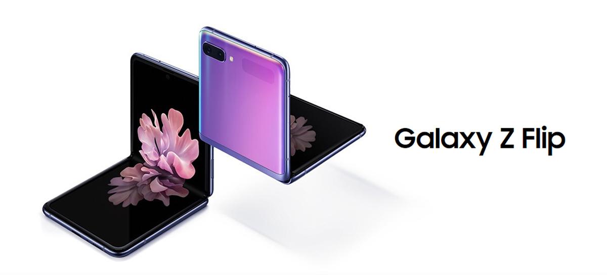 Samsung anuncia chegada do Galaxy Z Flip no Brasil