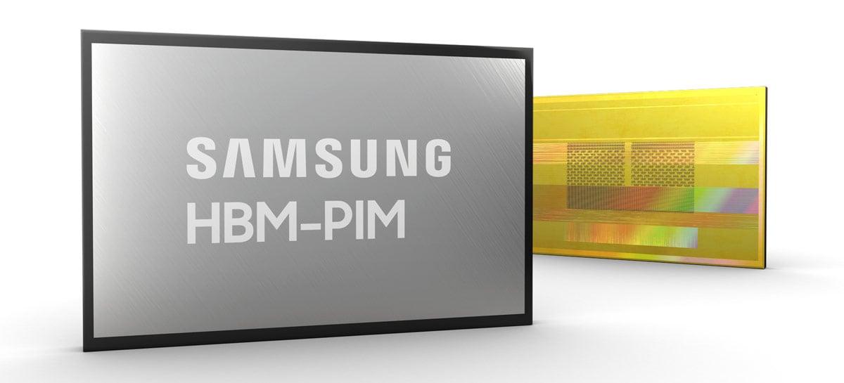 Samsung anuncia novo tipo de memória com IA e promete performance dobrada