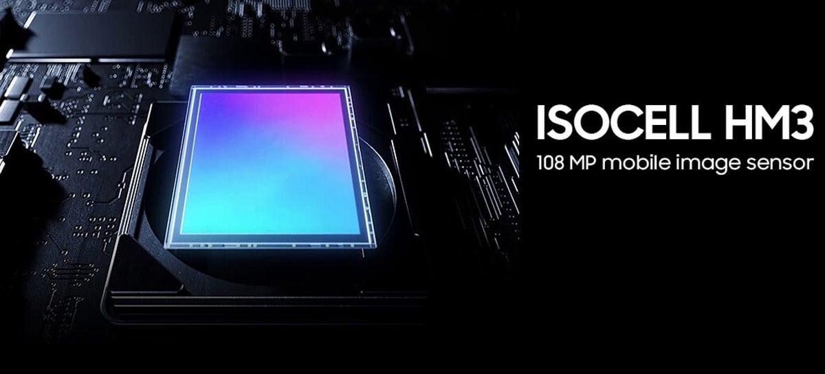 Sasmung mostra detalhes do ISOCELL HM3, usado na câmera do Galaxy S21 Ultra