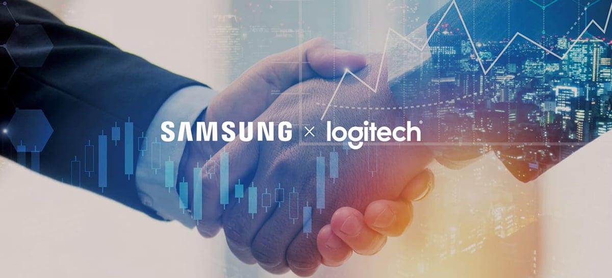 Samsung anuncia parceria com Logitech para oferecer soluções de videoconferência