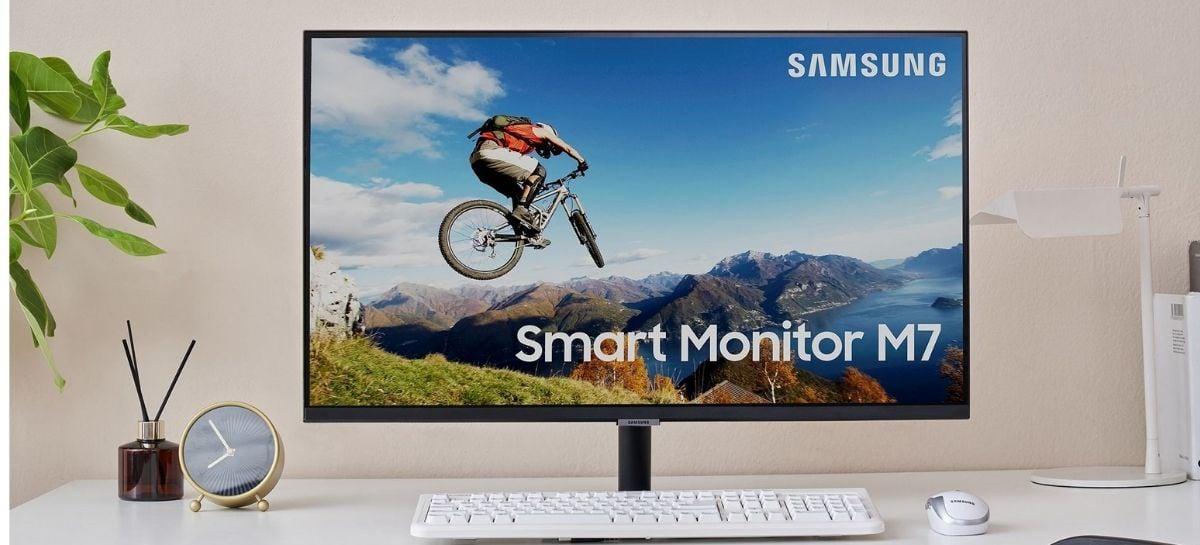 Samsung lança dois novos monitores inteligentes com sistema Tizen OS