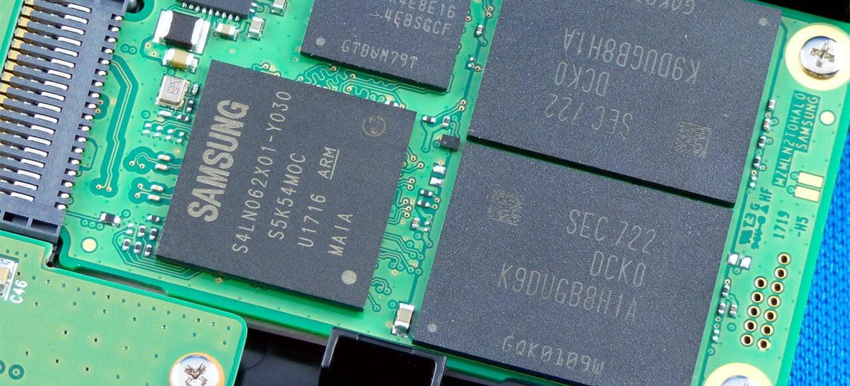 Nova geração de memórias NAND da Samsung vai oferecer mais capacidade com 160 camadas