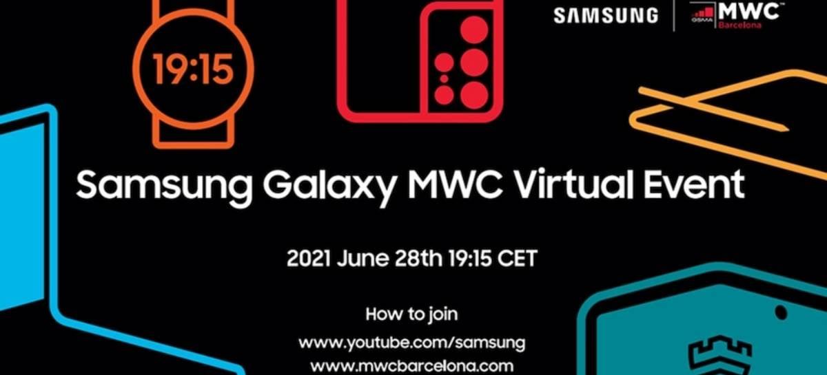 Assista ao vivo: Samsung Galaxy MWC Virtual Event