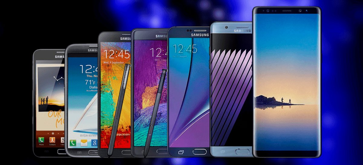 Samsung confirma que linha NOTE não será descontinuada