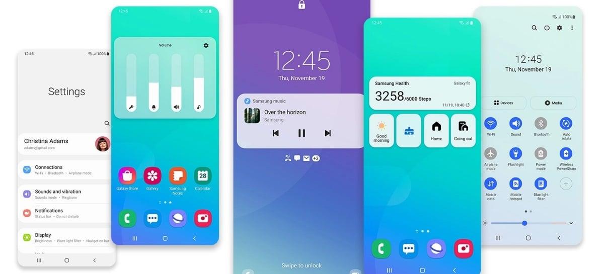 Samsung divulga detalhes da One UI 3 e revela quais celulares vão receber primeiro